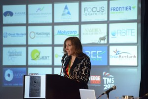 Tracy Weslosky at the ProEdgeWire Tech Metals Summit