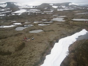 Pebble Mine site